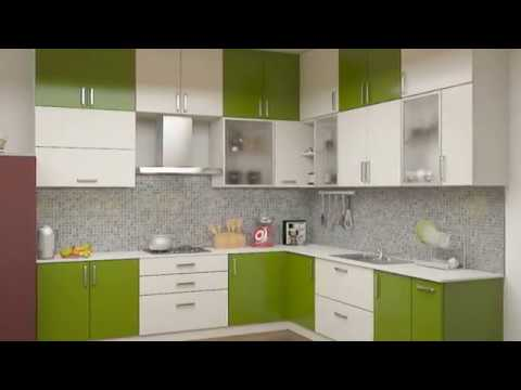 Kitchen Cabinet Designs In India Outdoor Flat Top Grill Modular Homes Youtube