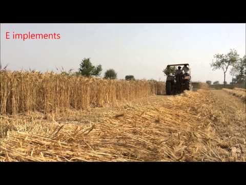 ER 702 / Working in Barley Crop / 2014 / 1 / E industries