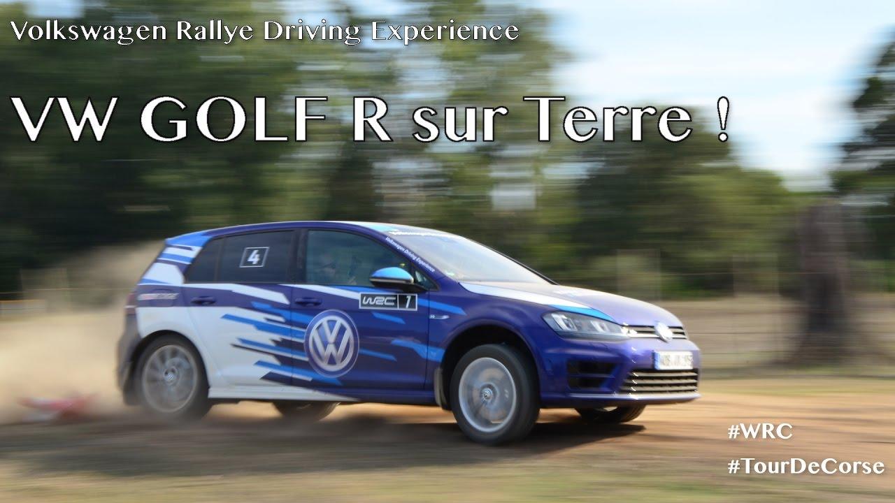La Golf R Sur Terre Vw Rallye Driving Experience
