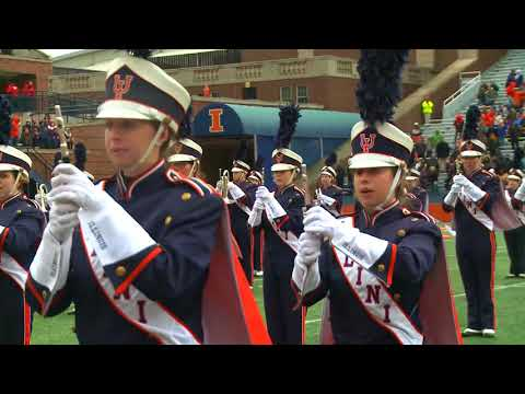 Marching Illini Halftime Show: 50th Anniversary of the Music of Chicago | October 28, 2017