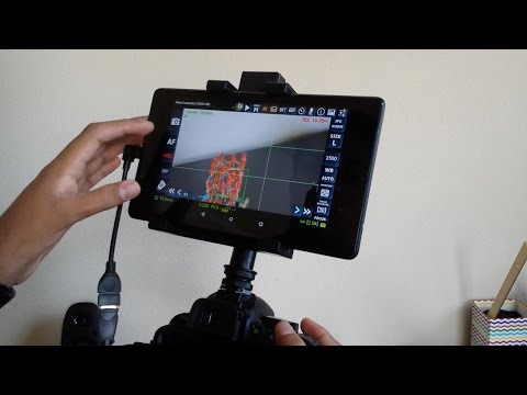 Use An Android Tablet as a Live Monitor for your DSLR Camera