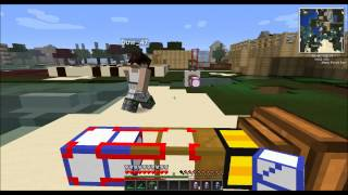 Minecraft Tekkit - How to make and use a Teleporter Pipe