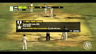 India Vs Pakistan - 1st Test - Ashes Cricket 2009 - Part 1