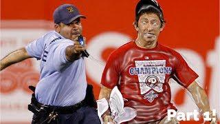 MLB CRAZY FANS ON FIELD ᴴᴰ