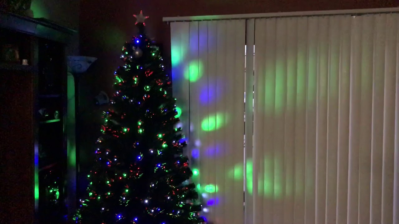 7FT Fiber Optic Artificial Christmas Tree W/ UL Certified