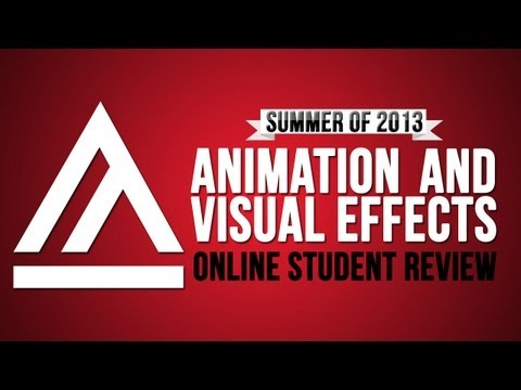 AAU Animation and Visual Effects Online Student Review