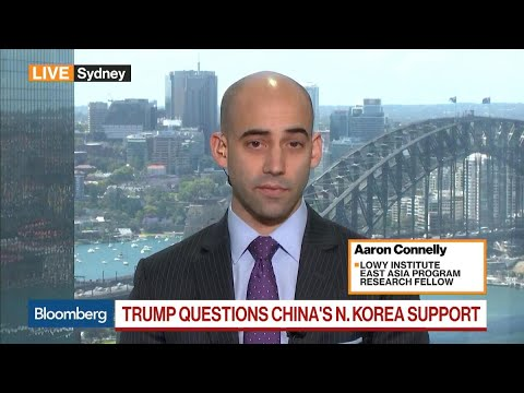 Lowy Institute's Connelly Sees Two Trumps in Asia Trip