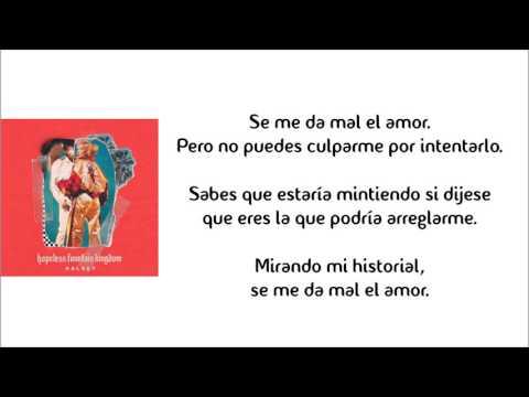 Bad at love - Halsey (Subtitulada)