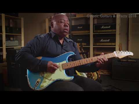 Xotic Effects Soul Driven demo + Paul Jackson Jr. - Part 2/3  - Full Song