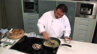 Tetsuya Wakuda's Recipe for Slow Pan Roasted Tasmanian Abalone.
