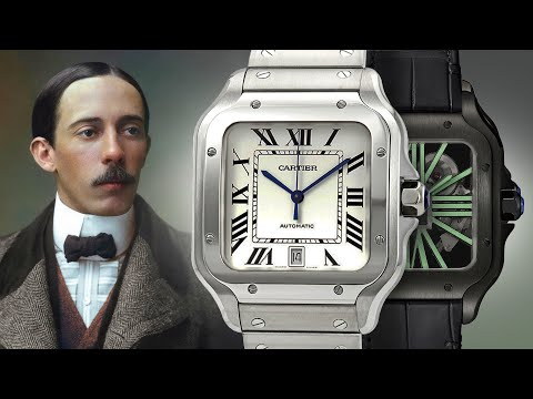 The World's First Wristwatch: How The Cartier Santos Made History