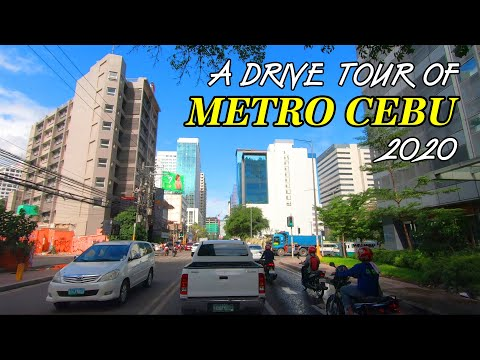 A DRIVE TOUR OF METRO CEBU - 2020
