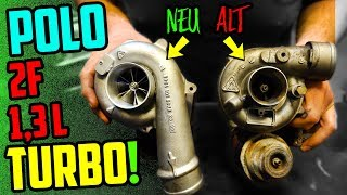 Low Budget TUNING! - VW Polo 1,3L TURBO - Technikvideo!