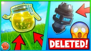 10 ITEMS REMOVED FROM FORTNITE!!! SKINS, WEAPONS, TRAPS & MORE!! -Fortnite: Battle Royale