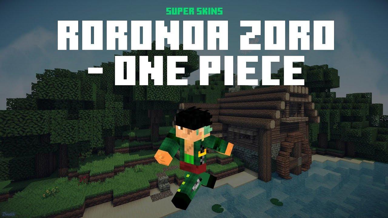 Best Roronoa Zoro One Piece Minecraft Skin ⚡ Download Links ⚡ Roronoa Zoro  One Piece