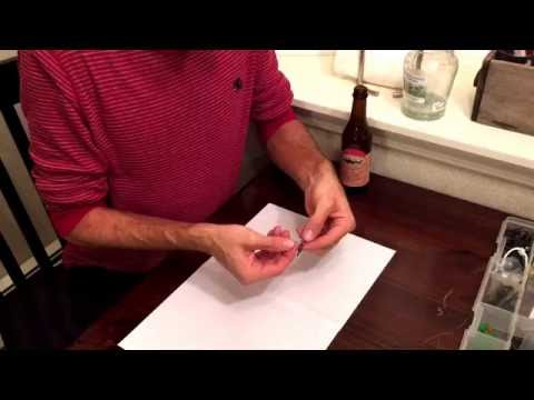 How To Tie A Red Drum Surf Fishing Rig(Fish Finder)
