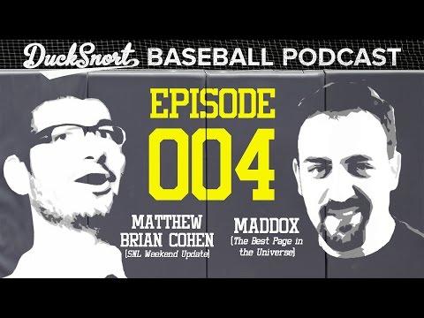 Maddox & Matthew Brian Cohen talk True Yankees and Madison Bumgarner (Ducksnort Baseball Podcast #4)