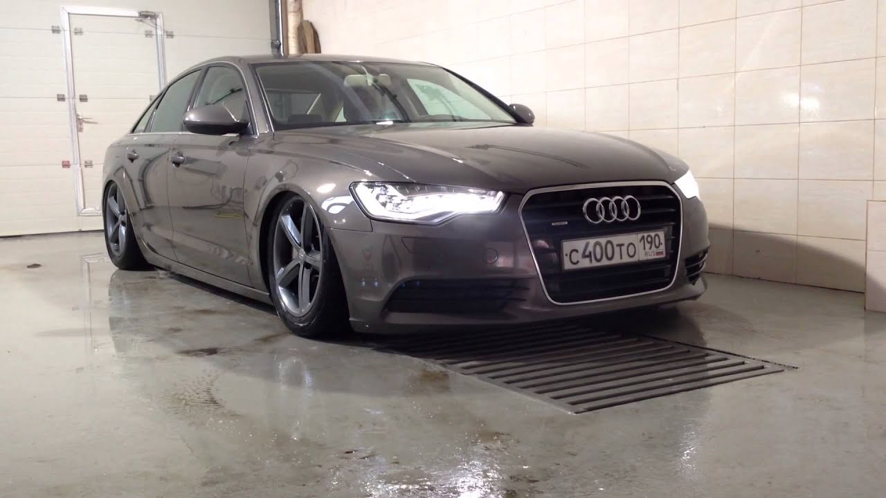 Audi A6 C7 Air Suspension Youtube