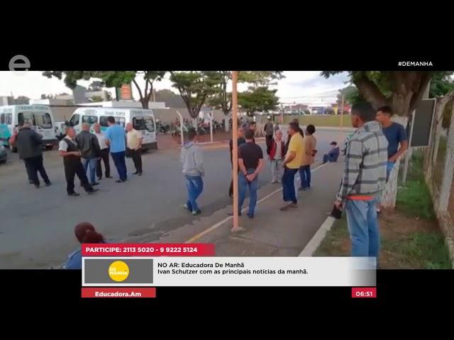 Assembleia para transporte coletivo por duas horas em Limeira