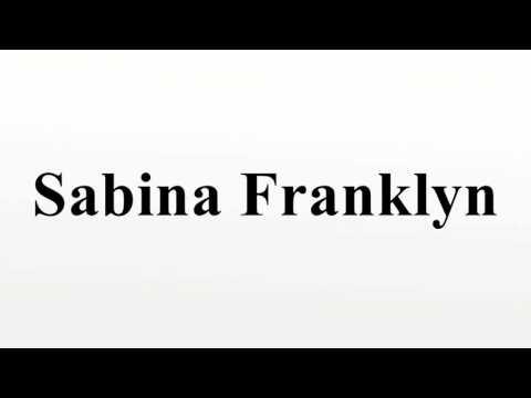 Sabina Franklyn