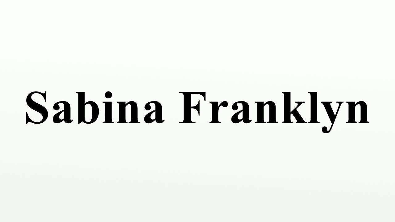 Sabina Franklyn (born 1954)