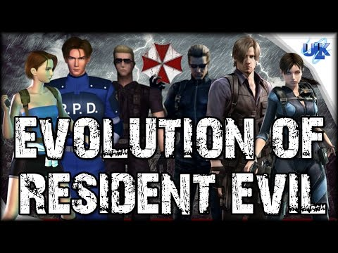 EVOLUTION OF RESIDENT EVIL (1996 - 2017)