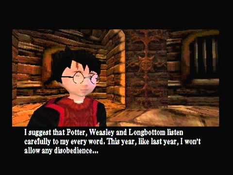 Harry Potter and the Chamber of Secrets PS1 Walkthrough - Part 06
