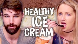 "6 So-Called ""Healthy"" Ice Creams!? (Cheat Day)"