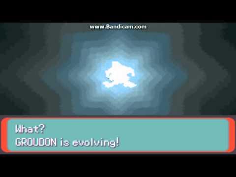 Pokemon Emerald Groudon Evolves