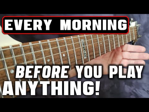 4 Guitar Exercises You Should Be Doing EVERY Morning!