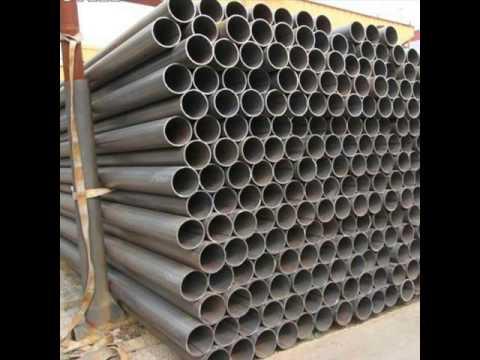 ERW Welded Steel Pipe For Building Shelf