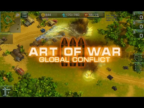 art-of-war-3:-global-conflict---mmo-rts-for-android-and-ios---raw-battle-video