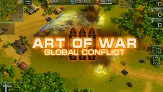 Art Of War 3: Global Conflict - MMO RTS for Android and iOS - raw battle video