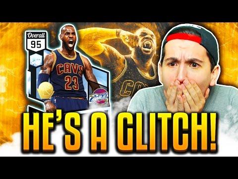 OMG DIAMOND LEBRON JAMES IS A GLITCH! NBA 2K17 MyTEAM GAMEPLAY!