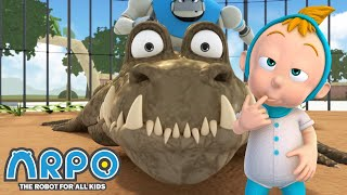 Arpo the Robot | ZOO Adventures!!! | Cartoon Compilation | Funny Cartoons for Kids | Arpo and Baby