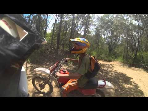 Sick Day riding with a Honda xr250 1982! and Yamaha yz250f