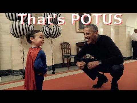 That's POTUS - Obama's Funny Moments with Kids at Halloween 2016 at the White House