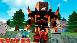 TITAN SIMULATOR TIME TO STOMP - Roblox simulator adventures