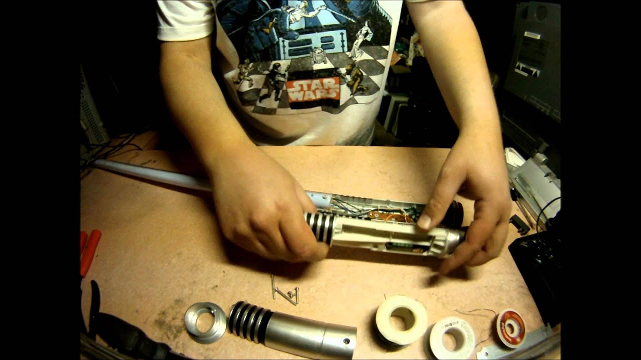 maxresdefault hasbro star wars ultimate fx lightsaber disassembly youtube  at mifinder.co