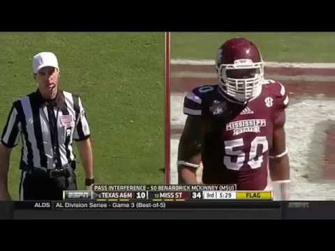 #12 Mississippi State vs #6 Texas A&M 2014 FULL FOOTBALL GAME HD