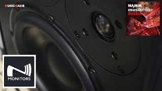 N-Monitors - студийные мониторы (NAMM Musikmesse Russia 2018)
