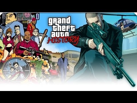 The History of - Grand Theft Auto (1997-2012) - [1080p]