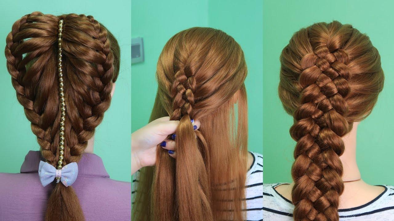 12 BEAUTIFUL & TOP DIY HAIRSTYLE TUTORIAL HAIR HACKS & TIPS