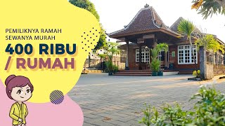 Review Guest House di Jogja: Rumah Uti Family Homestay (mulai 400 rb/rumah)