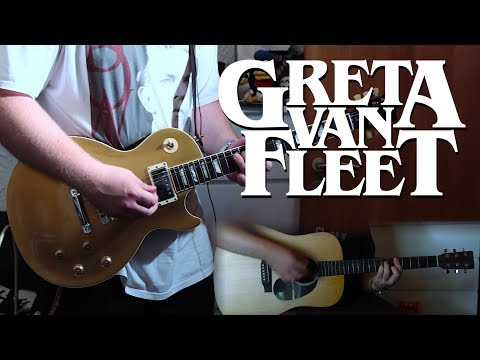 Greta Van Fleet - Meet On The Ledge | TABS in description!
