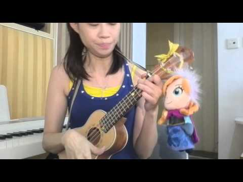 For the first time in forever, Frozen ukulele