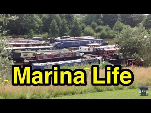Narrowboat Marina Life: Settling In