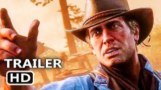 PS4 - RED DEAD REDEMPTION 2 Final Trailer (2018)