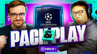 GUARANTEE CHAMPIONS LEAGUE PLAYER SBC!!! Fifa 21 Pack And Play