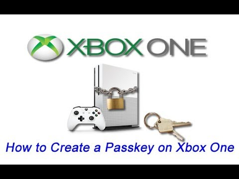 How to Create a Passkey on Xbox One